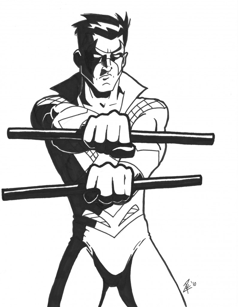dc comics nightwing coloring pages - photo#31