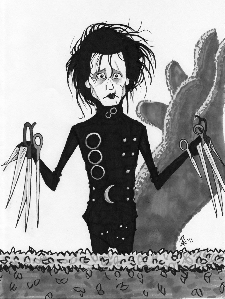 edward scissorhands 2 Edward scissorhands #1 - 10 + tpb vol 1 - 2 (2014-2015) : an all-new adventure revisiting edward scissorhands five decades after the end of the fan-favorite movie in castle just outside a sleepy suburban town, a brilliant inventor created edward scissorhandsbut left him tragically unfinished.