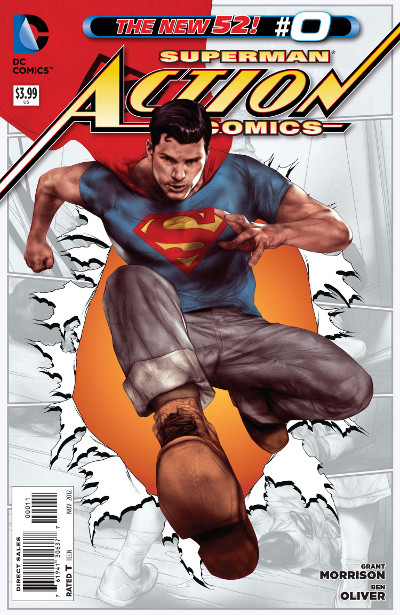 cover to Action Comics #0