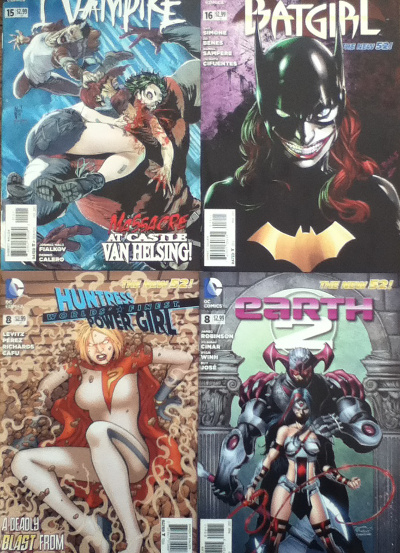 Comic Book Noise 287: I Vampire, Batgirl, World's Finest, and Earth 2