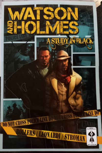Watson and Holmes: A Study In Black