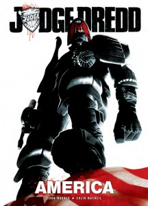 Judge Dredd America is available from branches of Barnes and Noble this month, as well as Amazon.com and comic book stores and the Diamond order code is JUN151496.