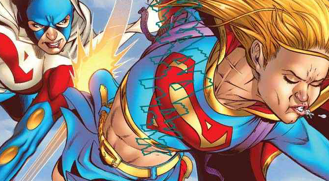 Comic Book Noise 556: Gambit and Supergirl