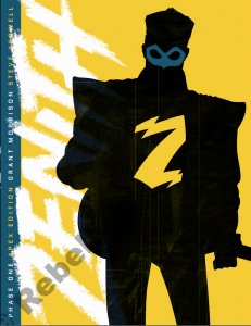 The creative team is led by Grant Morrison and Steve Yeowell.