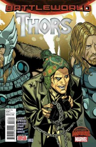 Thors #3 cover